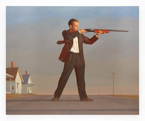 The American by Bo Bartlett contemporary artwork