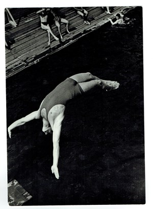 Diving by Alexander Rodchenko contemporary artwork