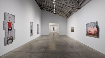 Contemporary art exhibition, Zhang Xiaogang, Recent Works at Pace Gallery, New York
