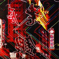 Midnight Shanghai 1 by Cho Duck Hyun contemporary artwork works on paper