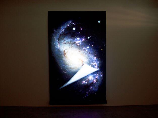 Exhibition view: exonemo, Slice of the universe, Masahiro Maki Gallery, Tokyo (22 February–28 March 2020). Courtesy Masahiro Maki Gallery, Tokyo.