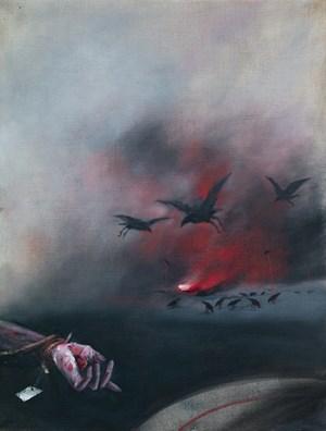 Raven by Vladimir Veličković contemporary artwork