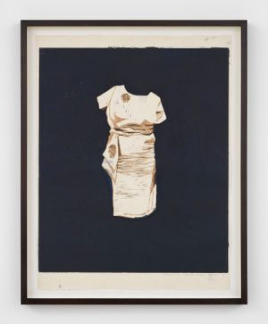 Dress by Mamma Andersson contemporary artwork