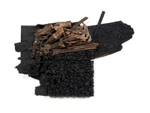 Number 18C by Leonardo Drew contemporary artwork