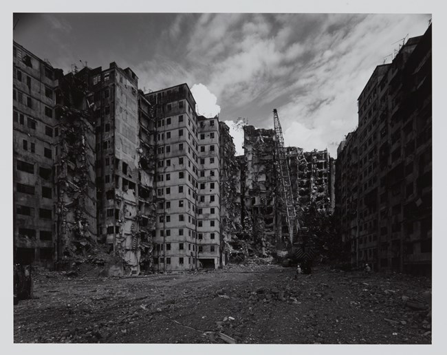 Kowloon Walled City by Ryuji Miyamoto contemporary artwork