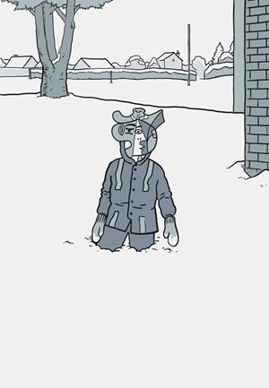 Prototyping Experiences (Untouched Snow Memory) by Ryan Gander contemporary artwork