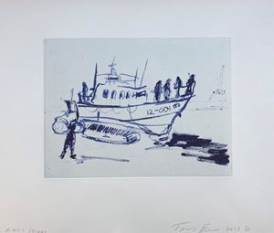 RNLI by Tracey Emin contemporary artwork
