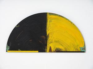 A Blaze of Yellow by Gretchen Albrecht contemporary artwork