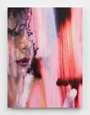 To a T by Marilyn Minter contemporary artwork
