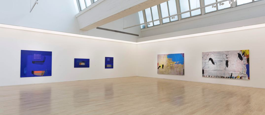 Exhibition view: Group exhibition, Painting and Existence: Chinese, Japanese, and Korean Abstract Painting, Tang Contemporary Art, Beijing (31 October–12 December 2020). Courtesy Tang Contemporary Art.