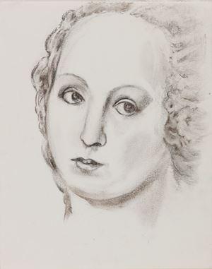 Copie d'après Raphael Villa Borghese by Martial Raysse contemporary artwork