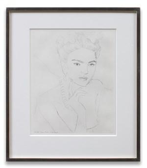 Frida by Elizabeth Peyton contemporary artwork