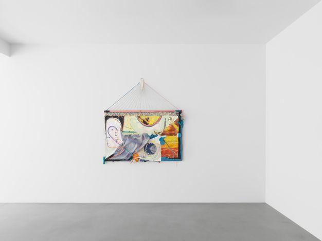 Exhibition view: Group exhibition, Gridscape, Xavier Hufkens, Van Eyck (8 July–14 August 2021). Courtesy Xavier Hufkens, Brussels.Photo: Allard Bovenberg.