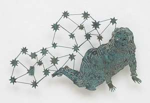 Girl with Stars by Kiki Smith contemporary artwork