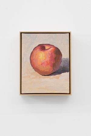 The Apple by Ge Yulu contemporary artwork painting, sculpture