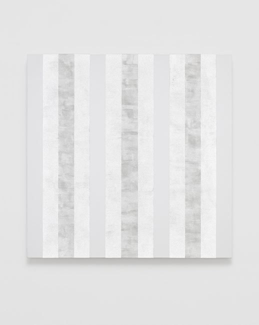 Untitled (Multiband and White) by Mary Corse contemporary artwork