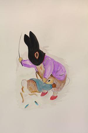 Bunny by Karen Densham contemporary artwork