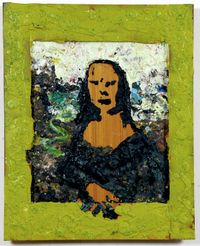 Untitled (Mona Lisa) by Gelatin contemporary artwork sculpture