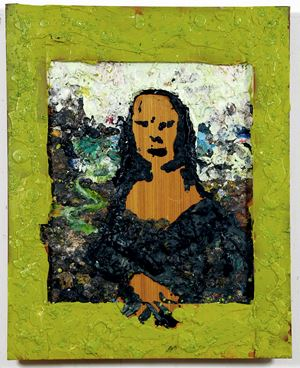 Untitled (Mona Lisa) by Gelatin / Gelitin contemporary artwork