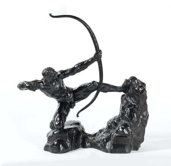 Héraklès Archer, huitième étude - modèle intermédiaire définitif by Émile-Antoine Bourdelle contemporary artwork