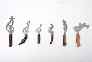 Les Couteaux by Zoulikha Bouabdellah contemporary artwork