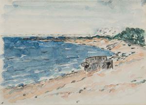 A Pillbox on the Beach by Lin Chuan-Chu contemporary artwork