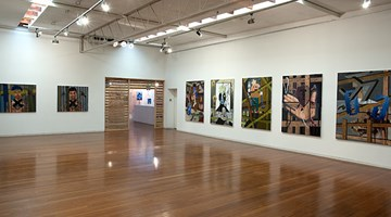 Contemporary art exhibition, David Griggs, Frat of the Obese at Roslyn Oxley9 Gallery, Sydney