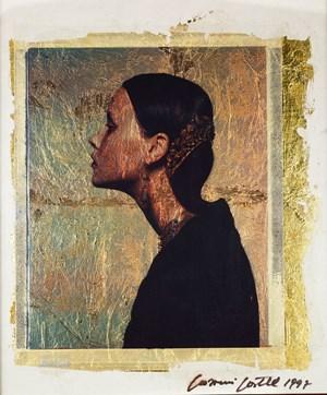 Polaroid Oro1 by Giovanni Gastel contemporary artwork
