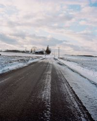 Road in Snow by Gregory Halpern contemporary artwork photography