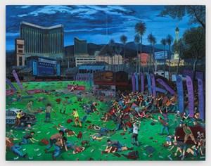 The Triumph of Death (Las Vegas) by Sandow Birk contemporary artwork
