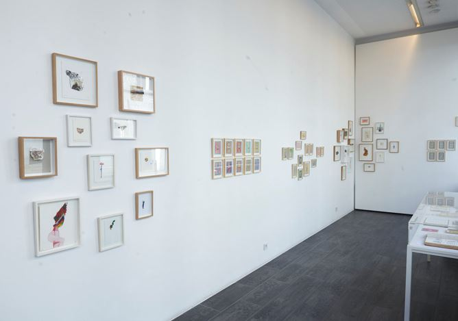 Exhibition view: Group Exhibition,Essai de définition du monde, Gallery FIFTY ONE TOO, Antwerp (27 February–24 April 2021). Courtesy Gallery Fifty One.