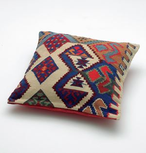 Georg's Pillow, 2007 (Replica of a pillow from George Lukács' sofa in his study at Belgrad Kai, Budapest) (For Parkett 78) by Olaf Nicolai contemporary artwork