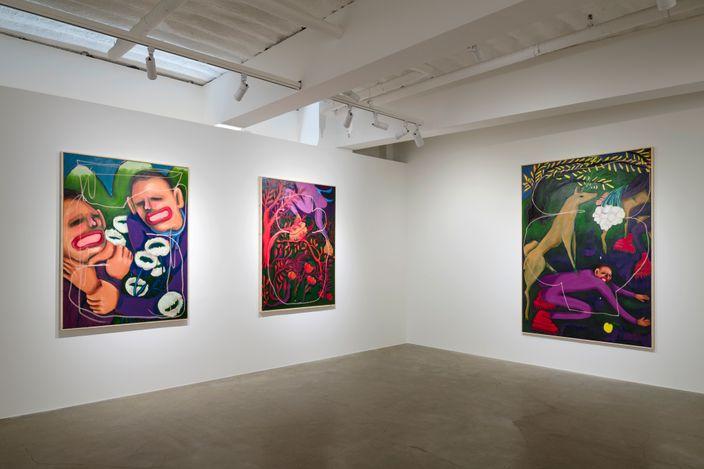Exhibition view: Conny Maier, Grenzgänge 2,KÖNIG GALERIE, Seoul (31 July–29 August 2021). CourtesyKÖNIG GALERIE. Photo: Cheonho Ahn.