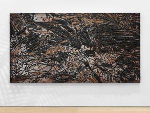 Black Beach(Unpolished Diamond) 3 by Teresita Fernández contemporary artwork