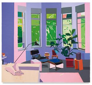 Gilboa St Living Room by Guy Yanai contemporary artwork