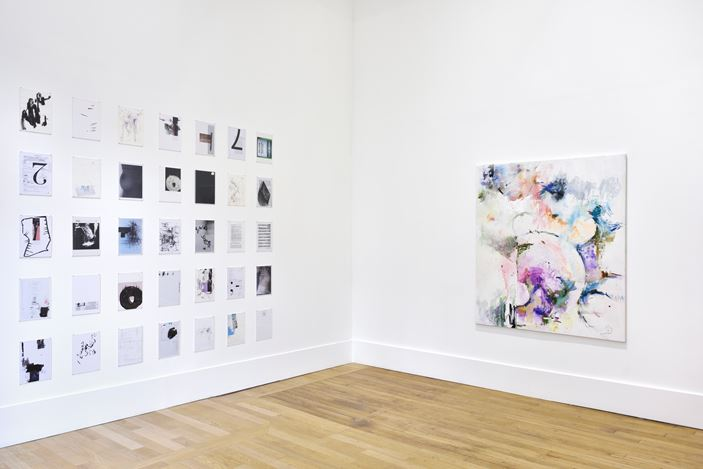 Exhibition view: Heike-Karin Föll, blushing, Campoli Presti, Paris (21 October–28 November 2020). Courtesy the artist and Campoli Presti. Photo:Rebecca Fanuele.