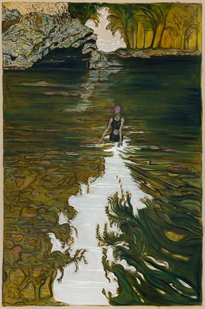 cave by Billy Childish contemporary artwork