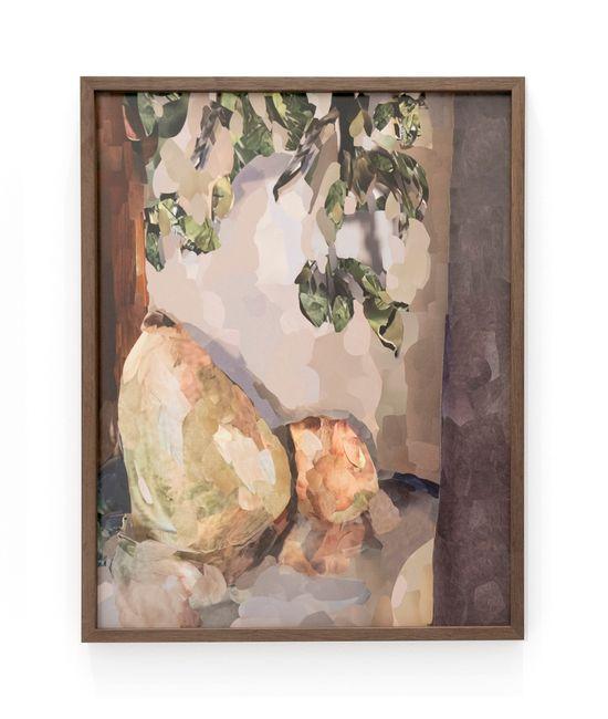 Untitled (Peach) by Alina Frieske contemporary artwork