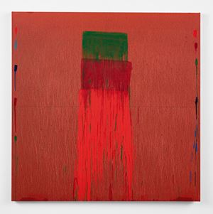 Considering Rothko #6 by Pat Steir contemporary artwork painting