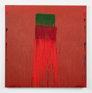 Considering Rothko #6 by Pat Steir contemporary artwork