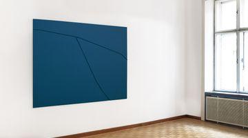 Contemporary art exhibition, Florian Pumhösl, Two Warped Reliefs at MEYER KAINER, Vienna