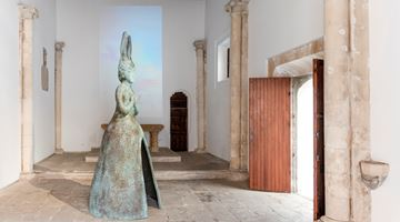Contemporary art exhibition, Leiko Ikemura, Usagi Kannon at KEWENIG, Palma