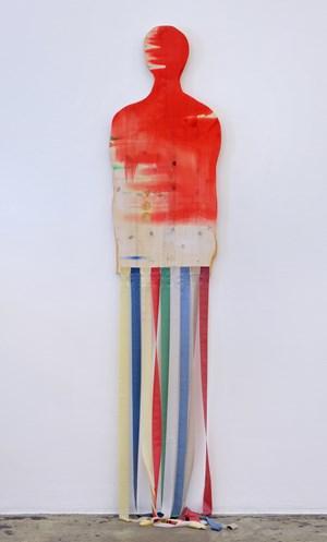 Homage by Róza El-Hassan contemporary artwork
