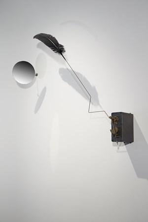 Le baiser du corbeau by Rebecca Horn contemporary artwork