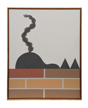 Geranium Pots (classic) by Mitch Cairns contemporary artwork