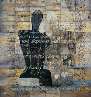 Time Does Not Exist by Imants Tillers contemporary artwork
