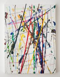 Work No. 2577 by Martin Creed contemporary artwork painting