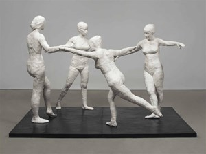 The Dancers by George Segal contemporary artwork