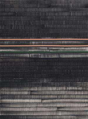 Soñé que revelabas (Huang He) by Juan Uslé contemporary artwork