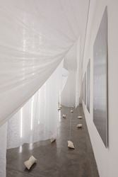 Exhibition view: Carlito Carvalhosa, Faço Tudo Para Não Fazer Nada, Galeria Nara Roesler, São Paulo (25 November-7 February 2017). Courtesy Galeria Nara Roesler, São Paulo.
